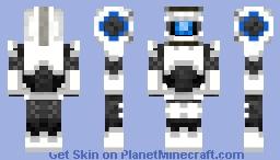 Defective Blue (1st Apperance) Minecraft Skin