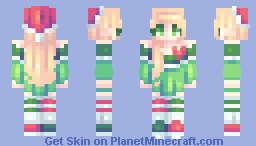 ♡ 𝓿𝒶𝓁𝓀𝓎𝓇𝒾𝑒𝓃 ♡ elf | day 9 Minecraft Skin