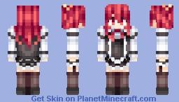 Stella rakudai kishi - Thinking z Minecraft Skin