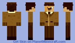 1900's Guy in Sepia Minecraft Skin