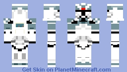 104th WolfPack Trooper (Lego version CW 2008) Minecraft Skin