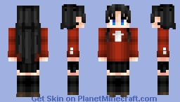 Rin Tohsaka 遠坂 凛 Fate/StayNight Fate/UBW Minecraft Skin