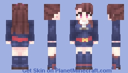 Atsuko Kagari - Little Witch Academia Minecraft Skin