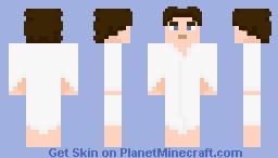 The Eighth Doctor - Post-Regeneration Minecraft Skin
