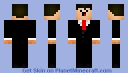 Mr.Handsome Minecraft Skin