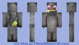 [Pokemon] Banette Minecraft Skin