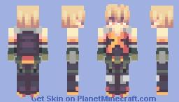 Reshaded ❤ Bakugou Katsuki 💥 Minecraft Skin