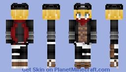 Billy the Kid ビリー・ザ・キッド (Archer) Fate/GrandOrder Minecraft Skin