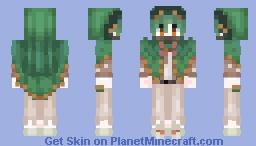 Decidueye Human Minecraft Skin