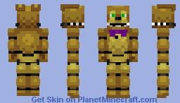 Spring Bonnie Minecraft Skin
