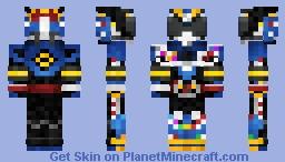 Kamen Rider Drive Type Formula 仮面ライダードライブ タイプフォーミュラ Minecraft Skin