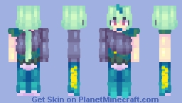 This color palette is pretty nice [Contest Prize] Minecraft Skin