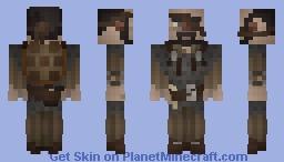[LotC] Scarred Sentry Minecraft Skin