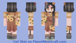 ❤【lookalike】ズゥは ❤ Minecraft Skin
