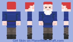 Noggin Clontith || You've Been Gnomed! || 19th Popreel || 300 Subscriber Special Minecraft Skin