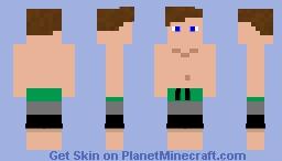 me irl: swimmers Minecraft Skin