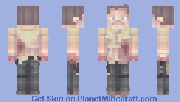 Rick Grimes | The Walking Dead | What Comes After Minecraft Skin