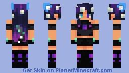 Azure Minecraft Skin