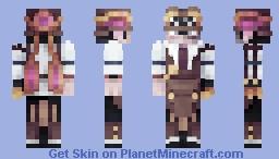 Steampunk Bartender Minecraft Skin