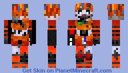 Scrap Baby Minecraft Skin