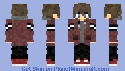 Ethan [The one who create SHADOW] [16 years old Version] Minecraft Skin