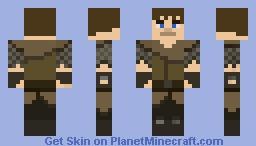 The Abbanoded Mansion - by NitrodeZ - The Adventurer Minecraft Skin