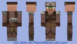 New Minecraft 1.14  Armorer Villager! Minecraft Skin