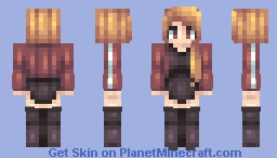When time allows Minecraft Skin