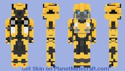 Bumblebee 2018 Minecraft Skin