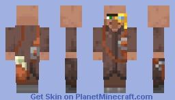 New Minecraft Cartographer Villager! Minecraft Skin