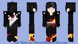Chisato [OC] Kimono 20y.o Minecraft Skin