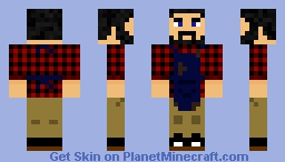 Just a skin I made, inspired by Vintagebeefs skin Minecraft Skin