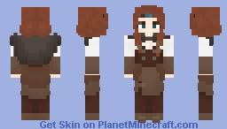 Sylvi Drakkendottir Minecraft Skin