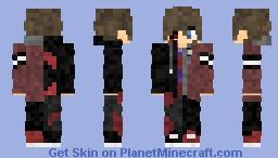 Ethan / Shadow [CreepyPasta OC / Creator] Minecraft Skin