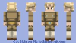 Gelato   Vento Aureo Minecraft Skin