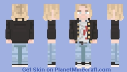 Kurt Cobain || Nirvana || Live and Loud || Request || 20th Popreel Minecraft Skin
