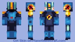 Megaman.EXE - Battle Network Minecraft Skin