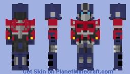 Optimus Prime 2018 Minecraft Skin