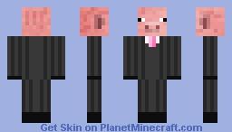 Pig Suit Minecraft Skin