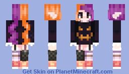 spooky! halloween around ~Dalian ✝ Minecraft Skin