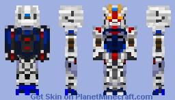 Freedom Gundam - ZGMF-X10A Minecraft Skin