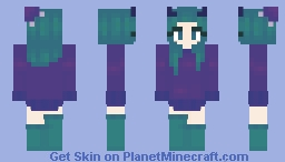mcrjellyfish Minecraft Skin
