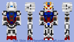 Strike Gundam - GAT-X105 Minecraft Skin
