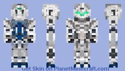 RX-0 Unicorn Gundam  - ( Unicorn Mode) Minecraft