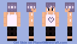Generic game character - contest example Minecraft Skin