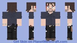 Rick Grimes   The Walking Dead   The Key Minecraft