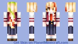 Saki Nikaidō Minecraft Skin