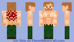 Escanor (nanatsu no taizai) Minecraft Skin