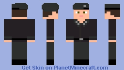 NWO Secret Police Minecraft Skin
