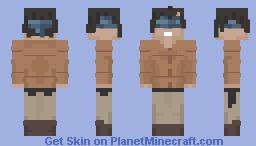 Malorie | Bird Box Minecraft Skin